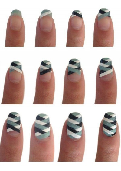 Jmpv How To Make Lovely Nail Art Step By Step Diy Tutorial